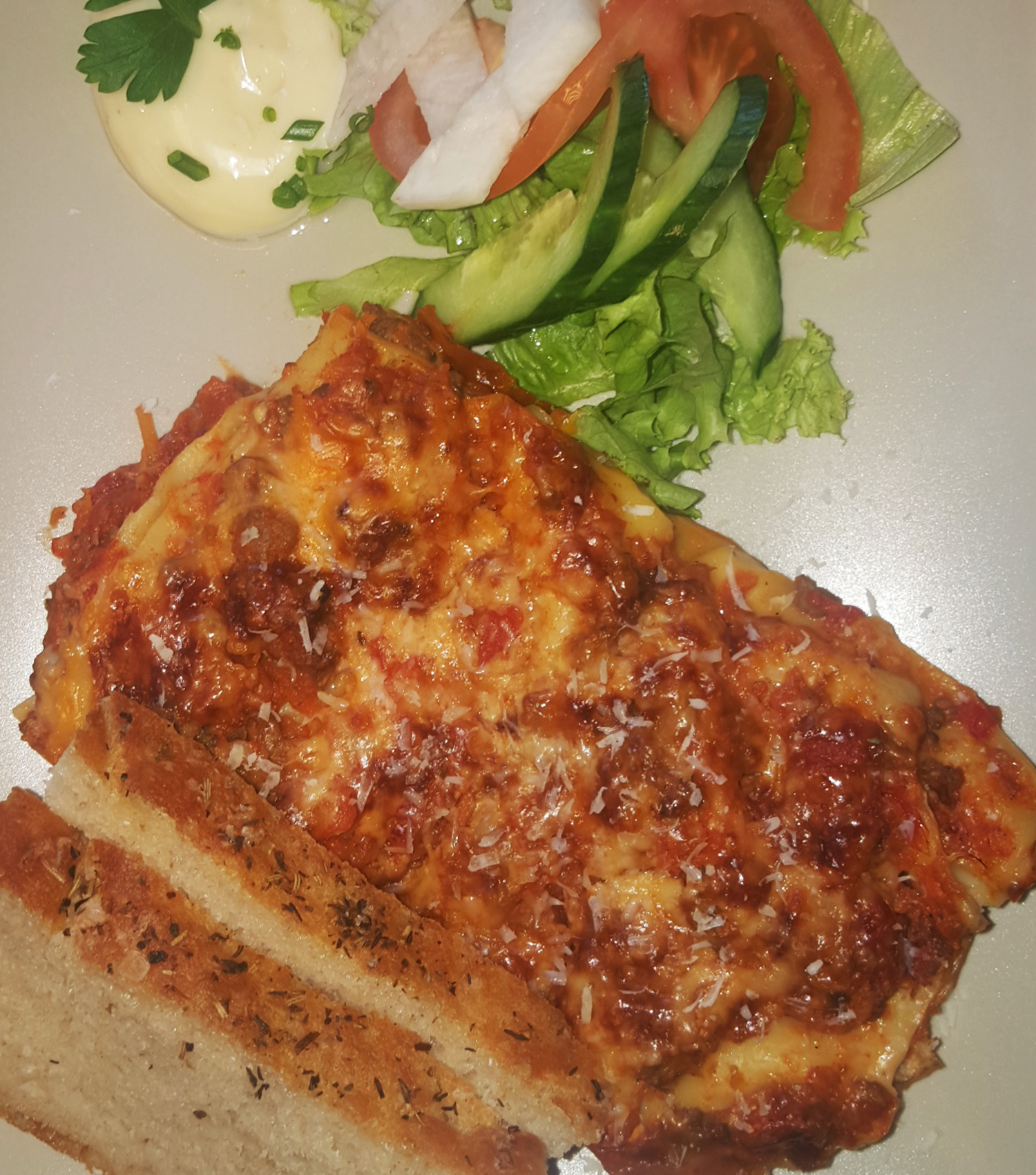 Lasagne, Husets