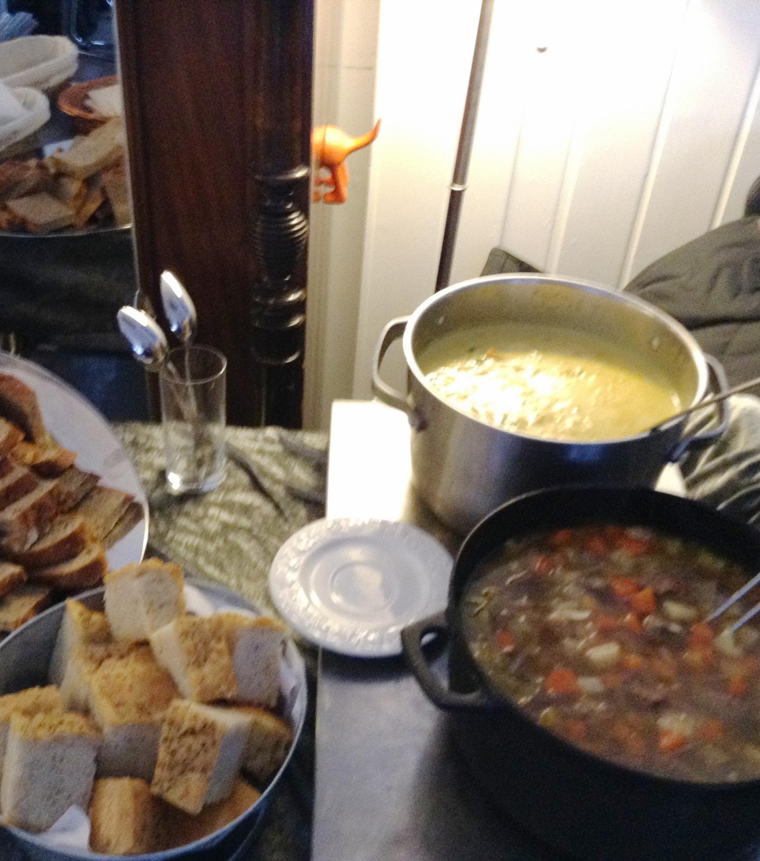 Lunch Tallerken, Varm