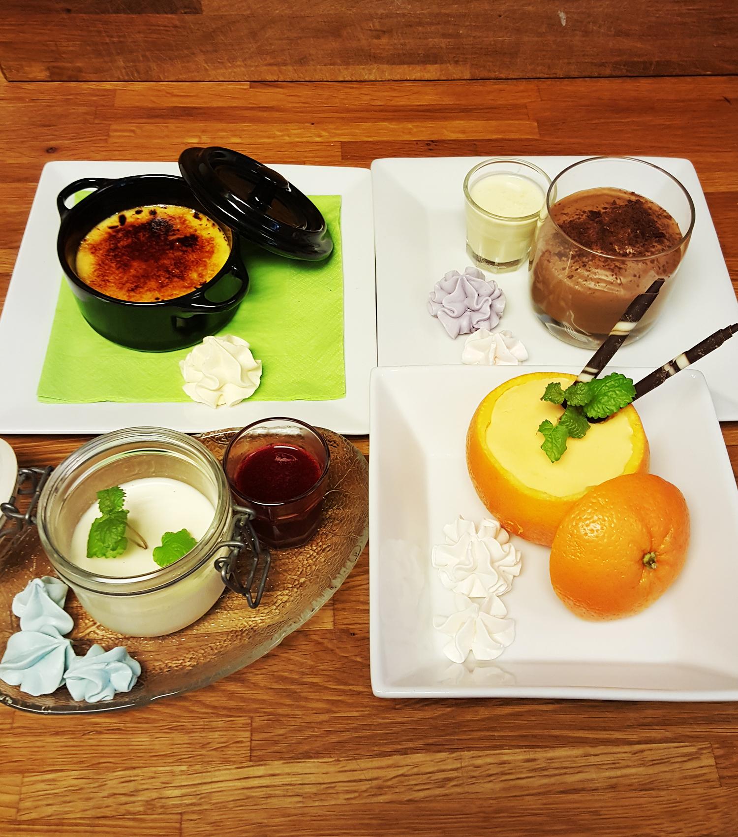 Hjemmelaget Dessert