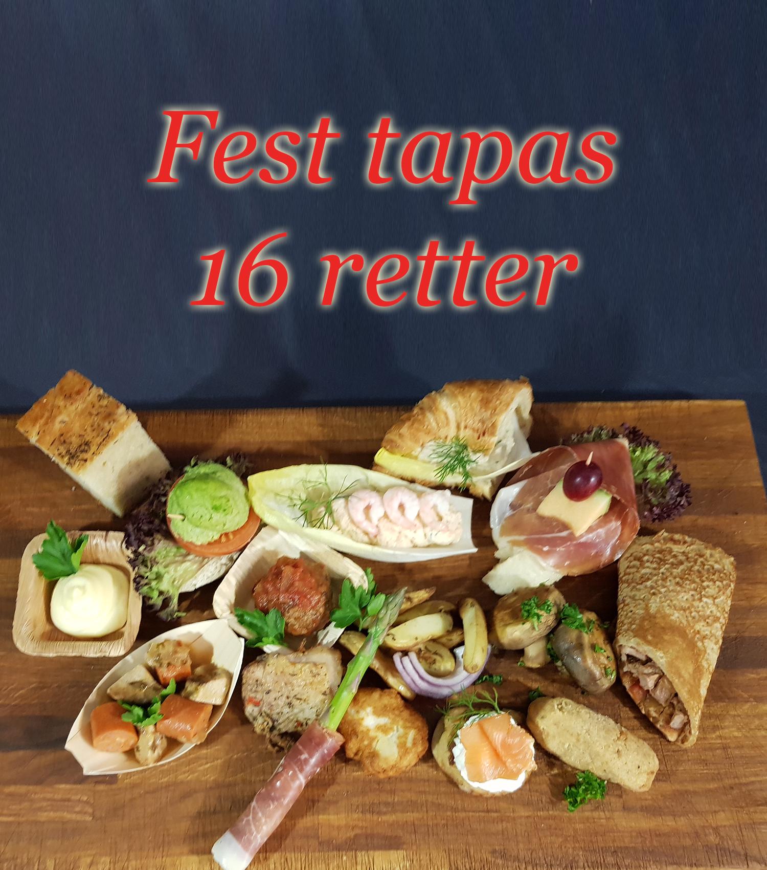 Fest Tapas 16 Retter