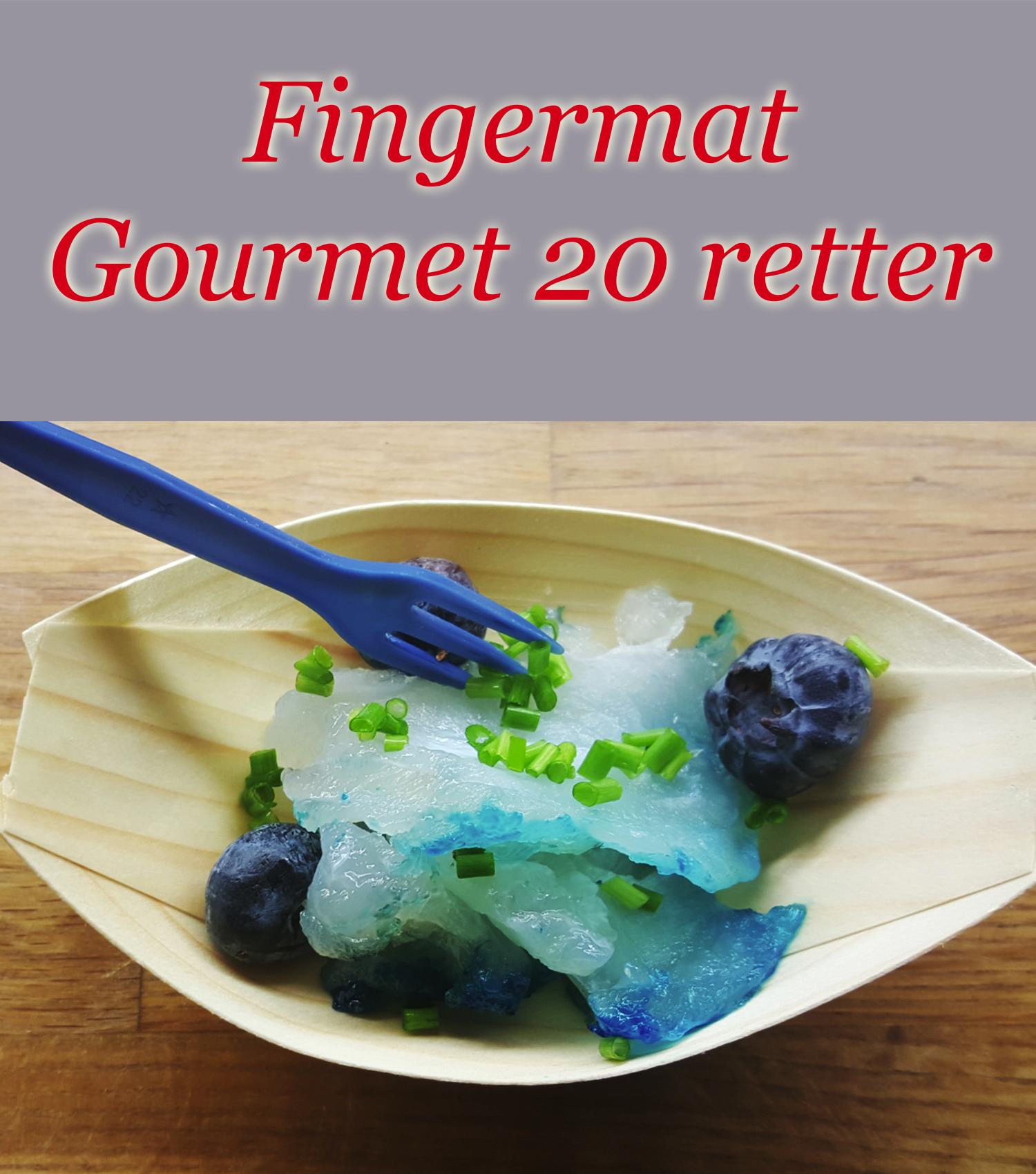 Fingermat, Gourmet 20 Retter