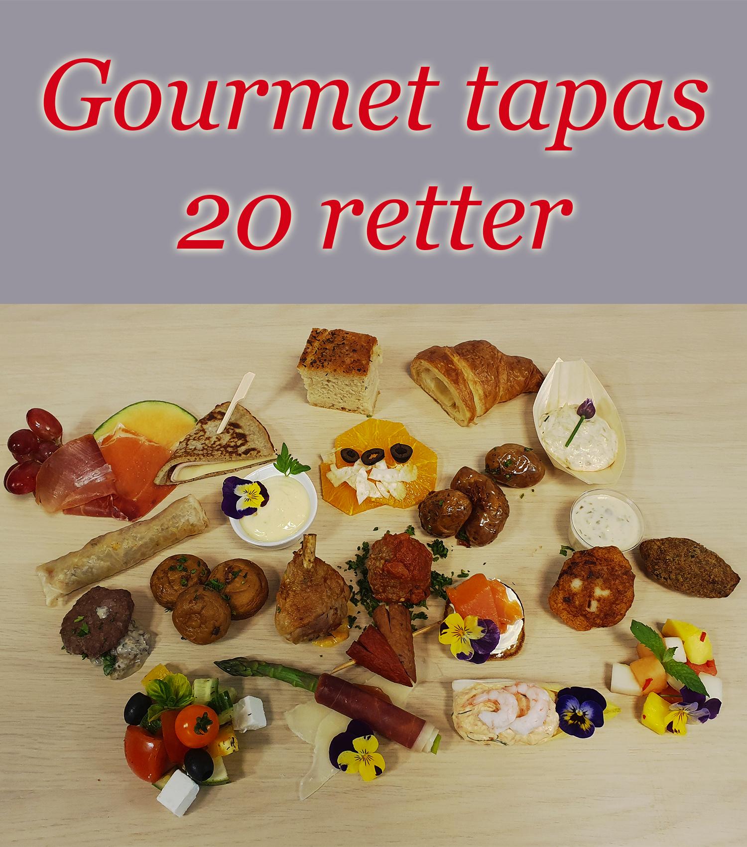 Gourmet Tapas, 20 Retter